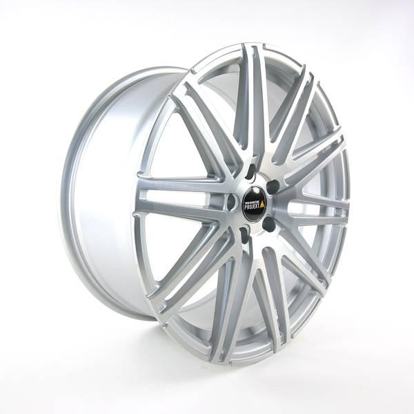 Bilde av Twin-Monotube Silver Brush felg 9x20 et42 VW T5 T6